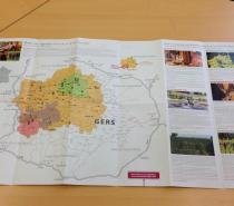 Nouvelle carte oenotourisme et PLV pour les prestataires «Les Bons Crus d'Artagnan®, Vignobles & Découvertes»